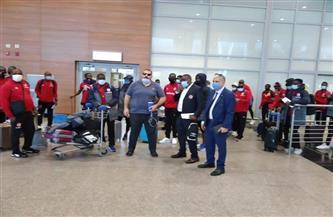 «نكانا» يصل القاهرة استعدادًا لمواجهة بيراميدز | صور