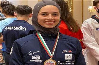 وزير الرياضة يهنئ نور حسين لفوزها بذهبية بلغاريا المفتوحة للتايكوندو