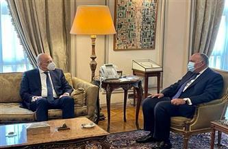 وزيرا خارجية مصر واليونان يناقشان سُبل دفع وتطوير مجالات التعاون بين البلديّن | صور