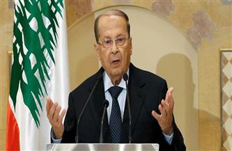 """""""عون"""" يؤكد أهمية تصحيح الحدود البحرية بين لبنان وإسرائيل وفق القوانين الدولية"""