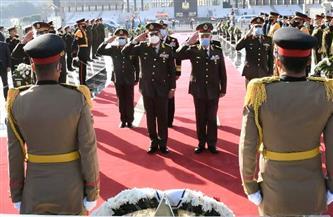 """تزامنا مع """"يوم الشهيد"""".. الرئيس ينيب وزير الدفاع لوضع إكليل الزهور على النصب التذكاري لشهداء القوات المسلحة"""