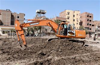 محافظ الفيوم يتفقد بدء أعمال الحفر بمشروع تطوير العاصمة   صور