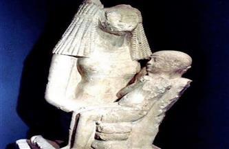 «مرضعة توت عنخ آمون».. تمثال شهر مارس بالمتحف المصري في التحرير | صور