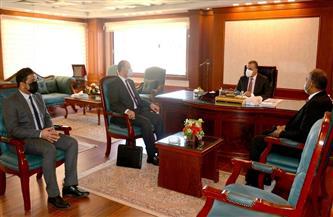 محافظ سوهاج يستقبل وكيل وزارة التربية والتعليم الجديد   صور
