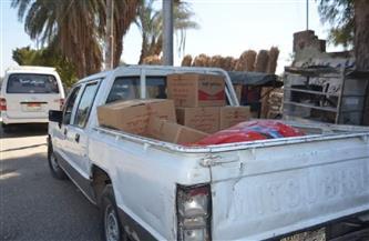 ضبط أغذية غير صالحة للاستهلاك الآدمي وتحرير 20 محضرًا في حملة بالأقصر | صور