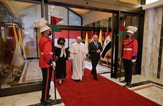بابا الفاتيكان يعرب عن شكره للعراق رئيسًا وشعبًا