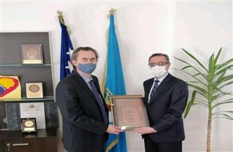 رئيس وزراء «توزلا» البوسنية يعرب عن رغبته في التعاون مع مصر بمجال تدريب الأطباء | صور