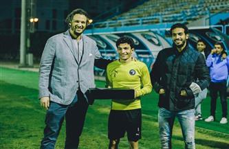 إسلام عيسى لاعب شهر فبراير في بيراميدز | صور
