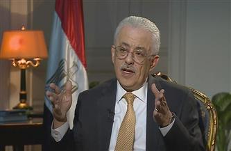وزير التعليم: 600 ألف طالب يخوضون امتحانات الثانوية يوميًا.. والأجهزة الأمنية ضبطت مروجي الغش