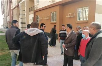 """مسئولو""""الإسكان"""" يتفقدون مشروعي «الاجتماعي وسكن مصر» بأكتوبر الجديدة   صور"""