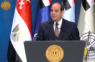 الرئيس السيسي: كل التحية والتقدير والاحترام لشهداء مصر.. وأرض مصر لا تنضب من الأبطال