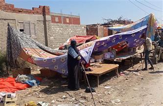 """فض سوق الوفاء الشعبية غرب الإسكندرية لمواجهة """"كورونا""""  صور"""