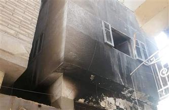 """حريق في عقار بشرق الإسكندرية """"بسبب تجمعات القمامة"""""""