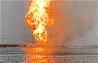 إعادة فتح الطريق الدولي الساحلي في البحيرة بعد إزالة آثار انفجار خط الغاز | فيديو