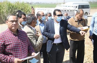 نائب محافظ قنا يتفقد المشروعات الخدمية بمركز أبوتشت   صور