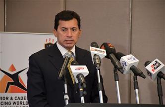 وزير الشباب ومحافظ المنيا يفتتحان نادي مغاغة بعد تطويره