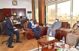 القنصلية السعودية تهدي 2000 مصحف للمساجد والمعاهد الأزهرية بمطروح | صور