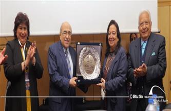 الفقي يفتتح الاحتفال بمئوية الدكتور ثروت عكاشة بمكتبة الإسكندرية بحضور وزيرة الثقافة |صور