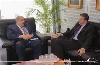 مدير مكتبة الإسكندرية يستقبل السفير الألماني| صور