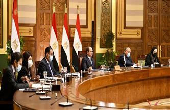 الرئيس السيسي: النقلة النوعية في القطاعات الاقتصادية والتنموية تعكس إرادة مصر نحو التنمية المستدامة