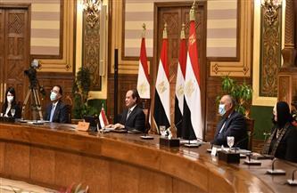 الرئيس السيسي يعقد حوارًا مفتوحًا مع رؤساء الشركات الأمريكية المختلفة.. ويعدهم بتذليل أي عقبات أمامهم