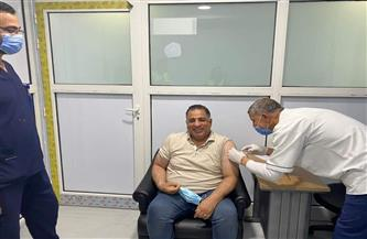 استمرار توافد المواطنين لتلقي لقاح كورونا بمركز تطعيم مستشفى شرم الشيخ الدولي |صور