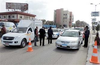 تحرير 312 مخالفة مرورية في حملة على الطرق بالغربية