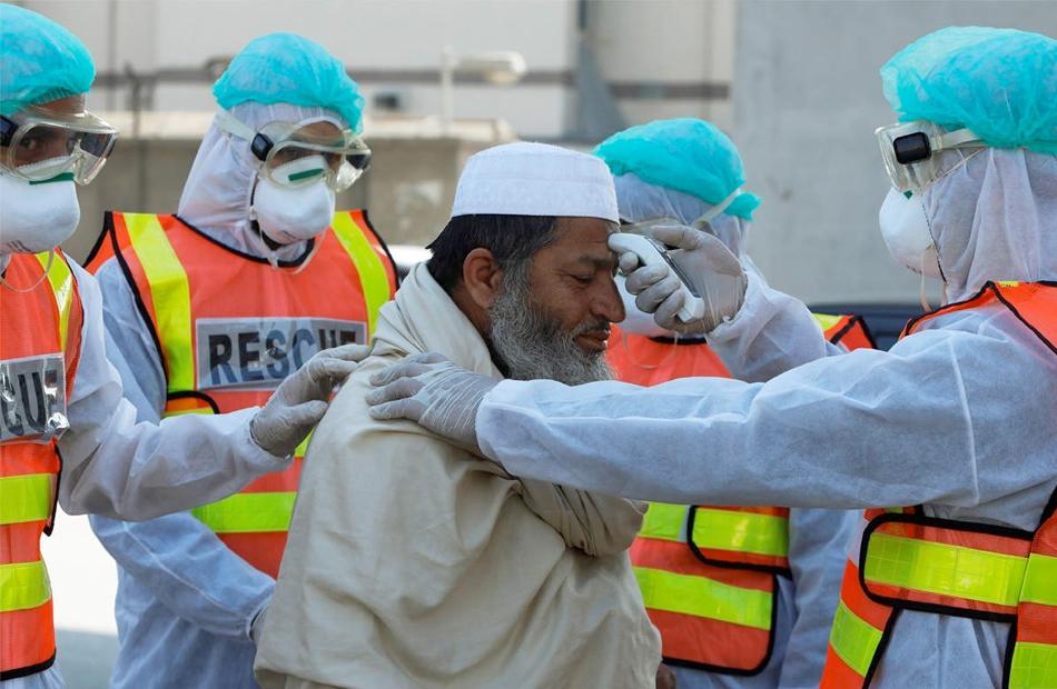 باكستان تسجيل  حالة إصابة و حالة وفاة بفيروس كورونا