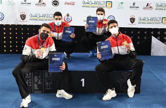 مصر تتصدر التصنيف العالمي لسلاح السيف شباب للفرق بعد التتويج بذهبية بطولة العالم