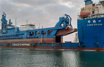 """ربيع: قناة السويس تشهد عبور السفينة الحاملة للكراكة """"مهاب مميش"""""""