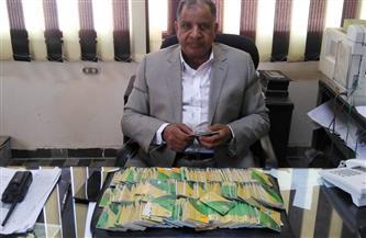 محافظ أسيوط: ضبط 486 بطاقة تموينية بحوزة بعض المخابز وتحرير 345 مخالفة