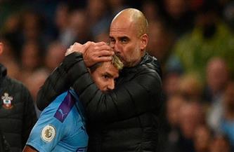 جوارديولا يمنح أجويرو حرية الانتقال لأي منافس في الدوري الإنجليزي