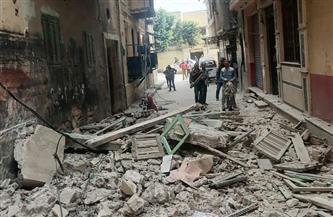 إزالة أجزاء من 6 عقارات في الإسكندرية بسبب خطورتها الداهمة| صور