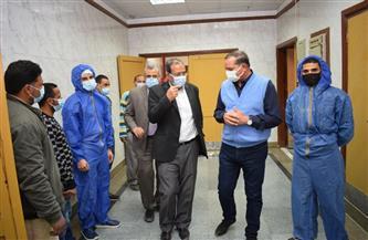 بدء تشغيل مستشفى للعزل بجامعة سوهاج لمواجهة حالات كورونا بالمحافظة   صور