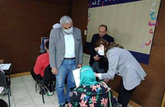 نائب محافظ الجيزة تتفقد مقر لجان امتحانات تعليم الكبار لذوي الإعاقة | صور