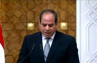 الرئيس السيسي:  قضية الأمن المائي المصري جزءًا من الأمن القومي العربي
