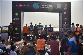 """رئيسة مدينة سفاجا تسلم الدروع والميداليات في ختان مهرجان """"إنديورانس"""" الرياضي لقوة التحمل"""