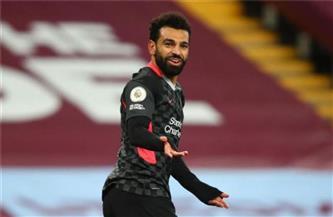 محمد صلاح يقود هجوم ليفربول أمام أستون فيلا