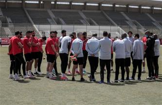 موسيماني يحاضر لاعبي الأهلي قبل مواجهة الجونه غدا