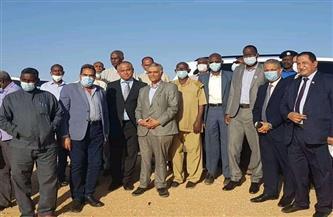اجتماع اللجنة الفنية المشتركة بين مصر والسودان للربط السككي في مدينة وادي حلفا | صور