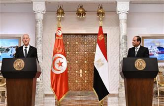 """""""لن نقبل أبدًا المساس بالأمن المائي المصري"""".. أبرز ما جاء خلال كلمة الرئيس التونسي"""