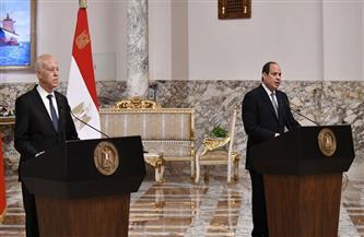الرئيس السيسي يؤكد مواصلة الجهود العربية من أجل دعم القضية الفلسطينية