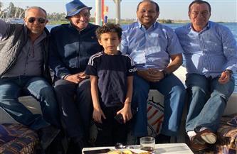 السفير الإماراتى بمصر يقوم بجولة نيلية في الأقصر| صور