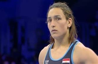 سمر حمزة تفوز ببرونزية بطولة نيكولا بتروفا للمصارعة في بلغاريا