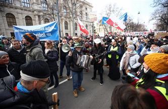 الشرطة تعتقل 14 شخصا في مظاهرة ضد قيود مكافحة كورونا في فيينا