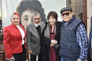 """بحضور لبنى عبد العزيز ونجوم الفن.. حفل توقيع كتاب """"لبنى.. قصة امرأة حرة""""    صور"""