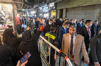 الرئيس التونسي يزور شارع المعز والقاهرة الفاطمية برفقة وزير السياحة والآثار| صور