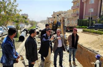 رئيس جهاز العبور الجديدة يتفقد مشروعات الإسكان والمرافق بالمدينة صور