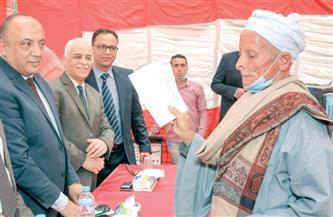 مساعد وزير الزراعة يتفقد مديرية الطب البيطري بسوهاج| صور