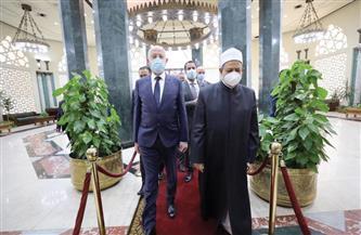 الإمام الأكبر يستقبل الرئيس التونسي في رحاب مشيخة الأزهر